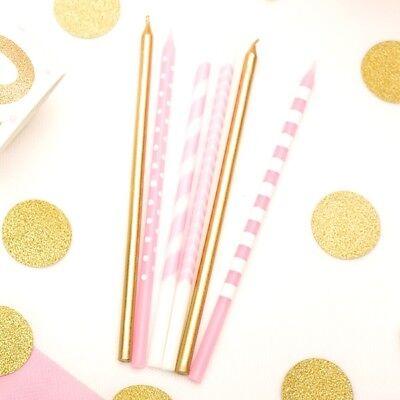 sa, weiß, gold, für Torte als Überraschung zum Geburtstag (Rosa Weiß Gold)