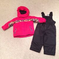 Winter jacket and snow pants set (18-24M)