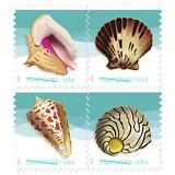 USPS New Seashells Coil of 100