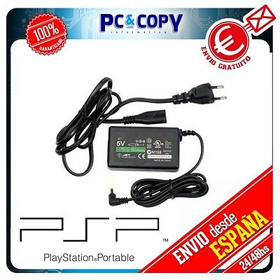 CARGADOR RED CABLE PARA SONY PSP FAT 1000 1001 1002 1003 1004...