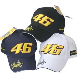 Moto-GP-Valentino-Rossi-46-Ducati-Baseball-Hat-Peaked-Cap-Authentic-VR46-MotoGP