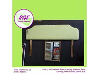 SALE NOW ON!! Double Headboard Upholstered By The RGF - Can Deliver For £19