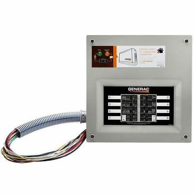Generac 9854 - 50-amp Homelink Upgradeable Pre-wired Manual Transfer Switch ...
