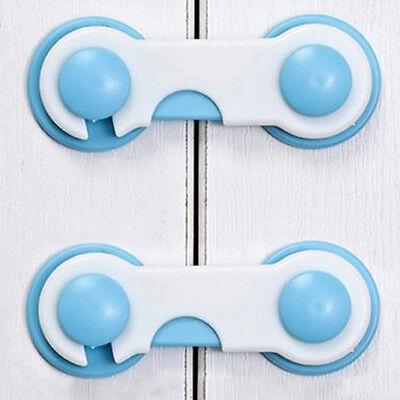 10X Baby Kids Box Drawer Cupboard Cabinet Wardrobe Door Fridge Safe Safety Lock
