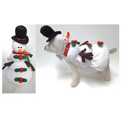 Calidad Perro Disfraz Muñeco de Nieve Disfraces Vestido - Como De Kostüme