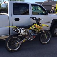 Priced to sell RMZ 250