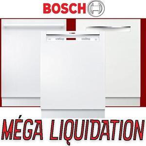5 modèles disponible – Lave-vaisselle Bosch NEUFS – blanc