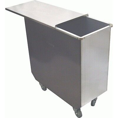 Stainless Steel Flour Bin-12 X 25 X 27 100qt Dn-fb100