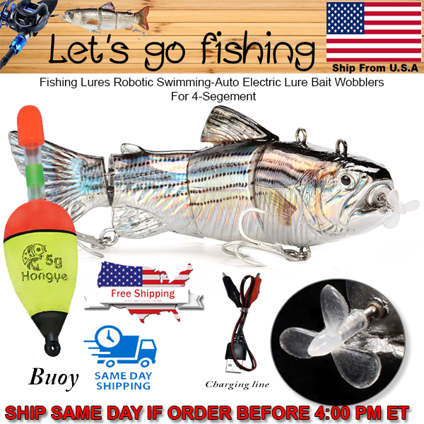 Fishing Lures Robotic Swimming-Auto Electric Lure Bait Speci