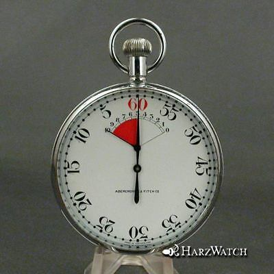 ABERCROMBIE & FITCH - Regatta Yacht Race Timer - 67 MM Approx. 1940 for sale  Shipping to Ireland