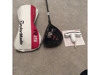 TaylorMade R15 R/Hand golf Driver.