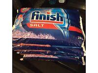 Finish Dishwasher Salt 4 X 2 kg