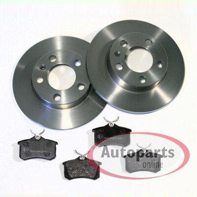 Bremsenreiniger Brembo Bremsscheiben Bremsenset Bremskl/ötze hinten Komplettset Hinterachse