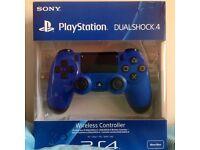 SONY PS4 WIRELESS CONTROLLER BRAND NEW SEAL BOX TWO YEAR SONY WARRANTY & SHOP RECEIPT