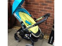 i candy peach (sweet pea) stroller and carry cot