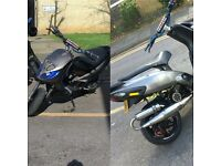172 malossi nrg typhoon reg 50 gilera runner engine not 70 183 125 yz lx pm
