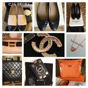Hermes, Chanel, YSL and Tiffany