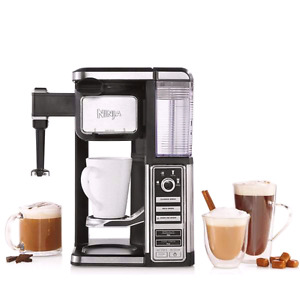 NEW NINJA BAR SINGLE SERVE COFFEE MAKER NO PODS BUILT IN FROTHER