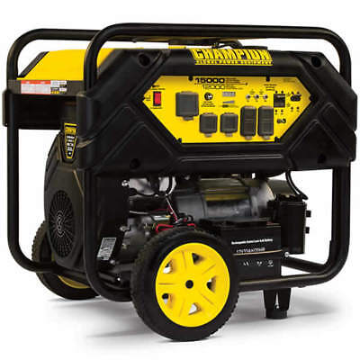 Champion 100111 - 12000 Watt Electric Start Portable Generator