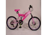 "Pink 20"" Muddyfox Sportz Mountain Bike"
