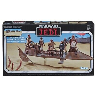 Star Wars The Vintage Collection Jabba's Tatooine Skiff Return Of The Jedi