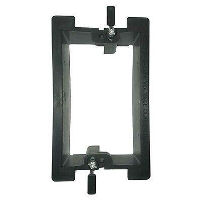 Eagle Wall Plate Mounting Bracket Single Gang PVC Low Voltage Box Drywall - Gang Mounting Wall Bracket