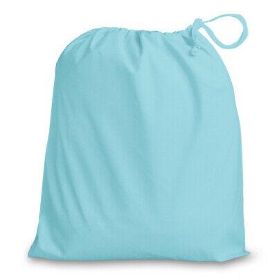 Drawstring Scrub bag Forgetmenot 38 x 43 cm  NHS Uniform Gym Doctor Dentist Food