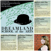 Music Lessons & Art Lessons - Dreamland School of The Arts