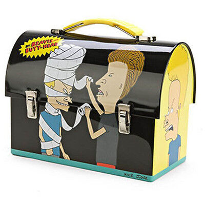 Beavis and Butthead Metal Tin Lunch Box TP NEW Carrier Worksman