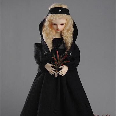 Little Hexen Dress Set Black DOLLMORE 1//4 BJD clothes outfits MSD SIZE
