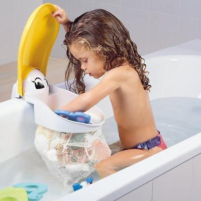 - Kids Kit Pelican Bath Toy Organiser Net Tidy Storage Pouch