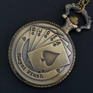ROYAL FLUSH POCKET WATCH (NEW0 Belleville Belleville Area image 1