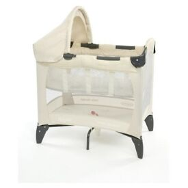 Small travel Cot ideal for camping caravan small room