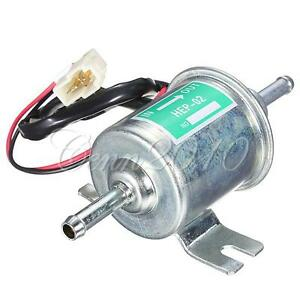 12v pompe carburant essence pour bateau de voiture lectrique nouveaux hep 02a ebay. Black Bedroom Furniture Sets. Home Design Ideas