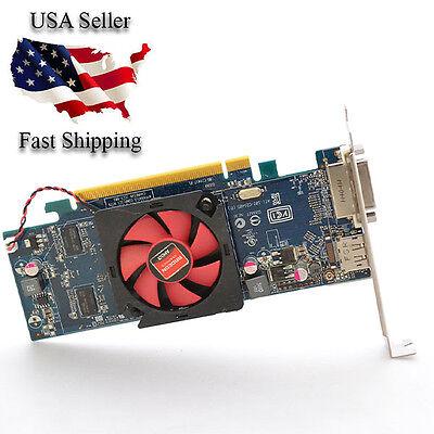Dell AMD Radeon Low Profile Video Graphics Card HD6450 1GB PCIe x16 GDDR3 0M0KV6