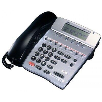 Nec Dterm Series I Phone Dtr-8d-2bktel Refurb Good Display 1 Year Warranty
