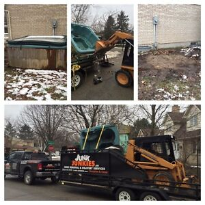 Junk, rubbish, garbage removal an delivery/estate service London Ontario image 5