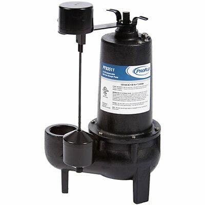 Proflo Pf93511 - 12 Hp Cast Iron Sewage Pump 2 W Vertical Float Switch