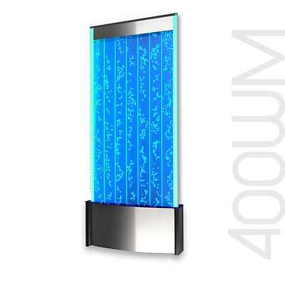 """Bubble Wall Mount Aquarium LED Lighting Indoor Panel Water Feature Fountain 45"""""""