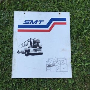 SMT Bus Lines Metal Sign