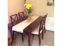 Mahogany dining table for sale