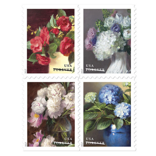USPS New Flowers from the Garden Booklet of 20