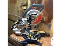 Titan 1800w compound sliding mitre saw