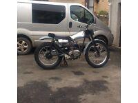 Francis Barnet twin shock pre 63 trials bike