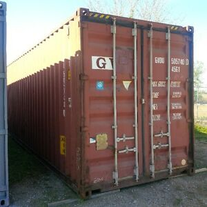 Gently used 20ft and 40ft steel sea containers for storage London Ontario image 2