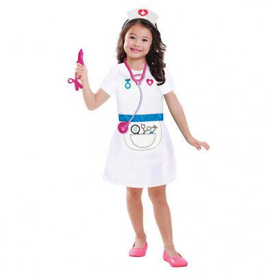 Krankenschwester Kostüm Gr. 98 104 110 Mädchen Kinder Karneval Fasching - Krankenschwestern Kostüm Kinder