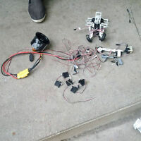 rc plane servos and retract wheels