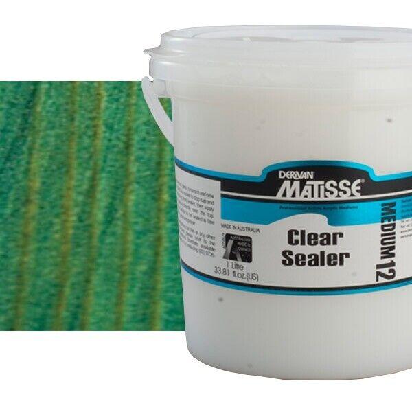 Matisse Medium 12 Clear Sealer 1 Litre