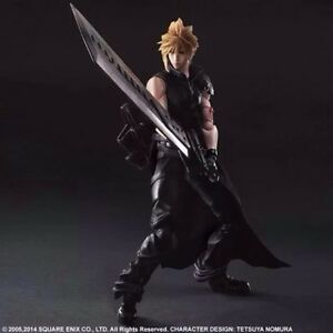 "NEW Play Arts Kai Cloud Strife ""Final Fantasy VII"" Action Figure"