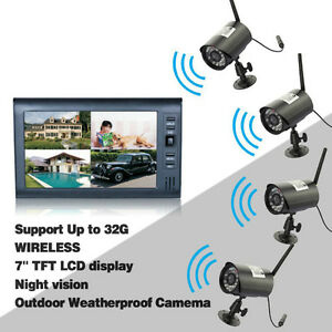 4 CH wireless  camera